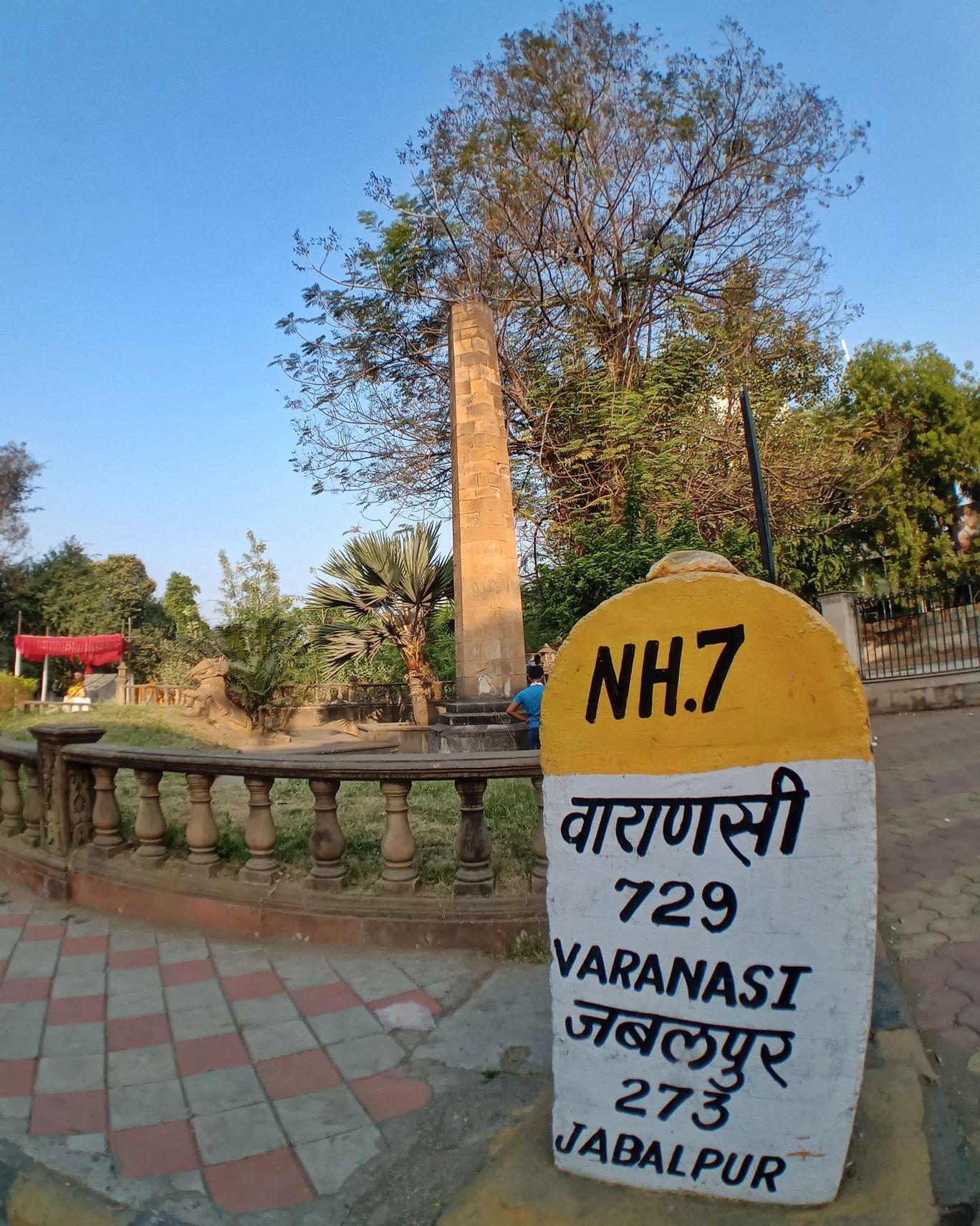 Photo of Zero Mile Stone Nagpur By Rushikesh Rithe