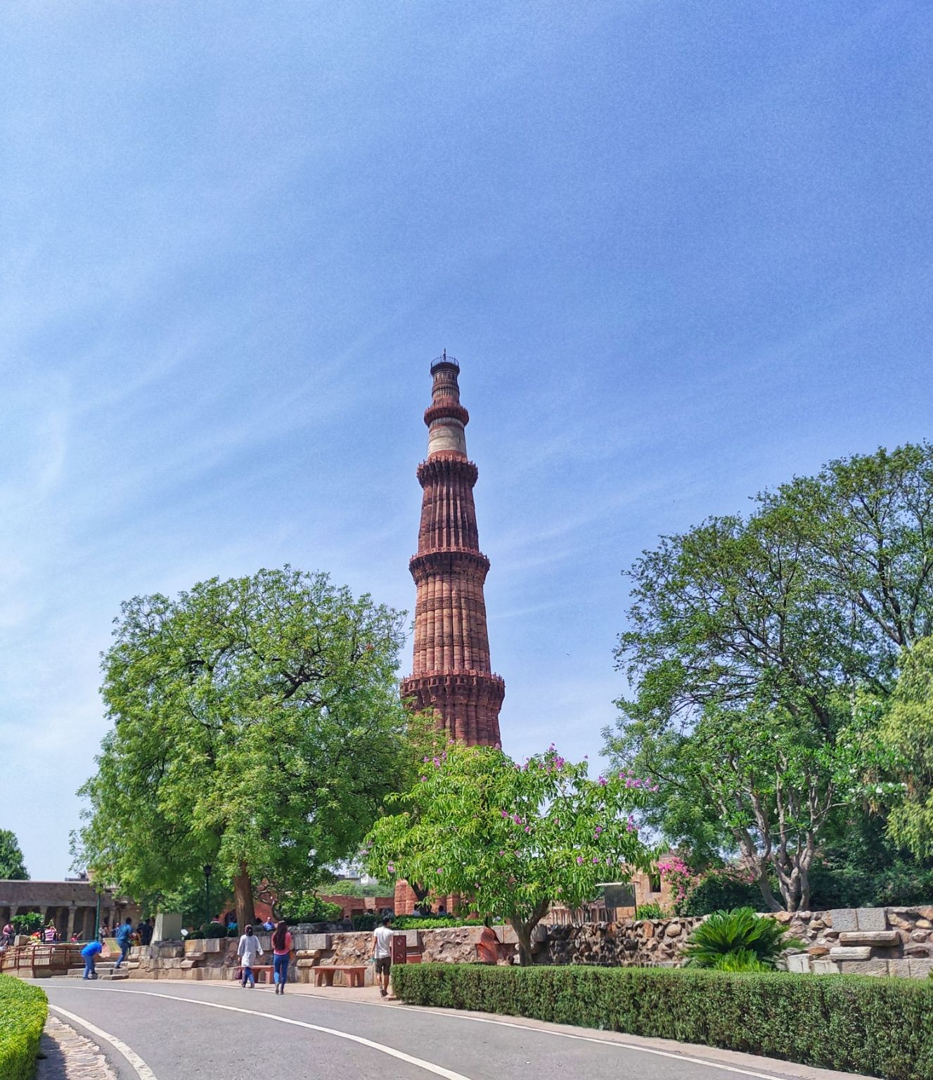Photo of Qutub Minar By Nishant Kumar