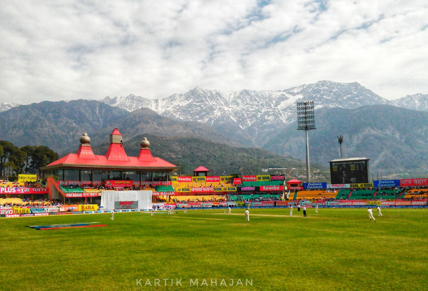 Photo of Himachal Pradesh Cricket Association Stadium Dharamshala By Kartik Mahajan