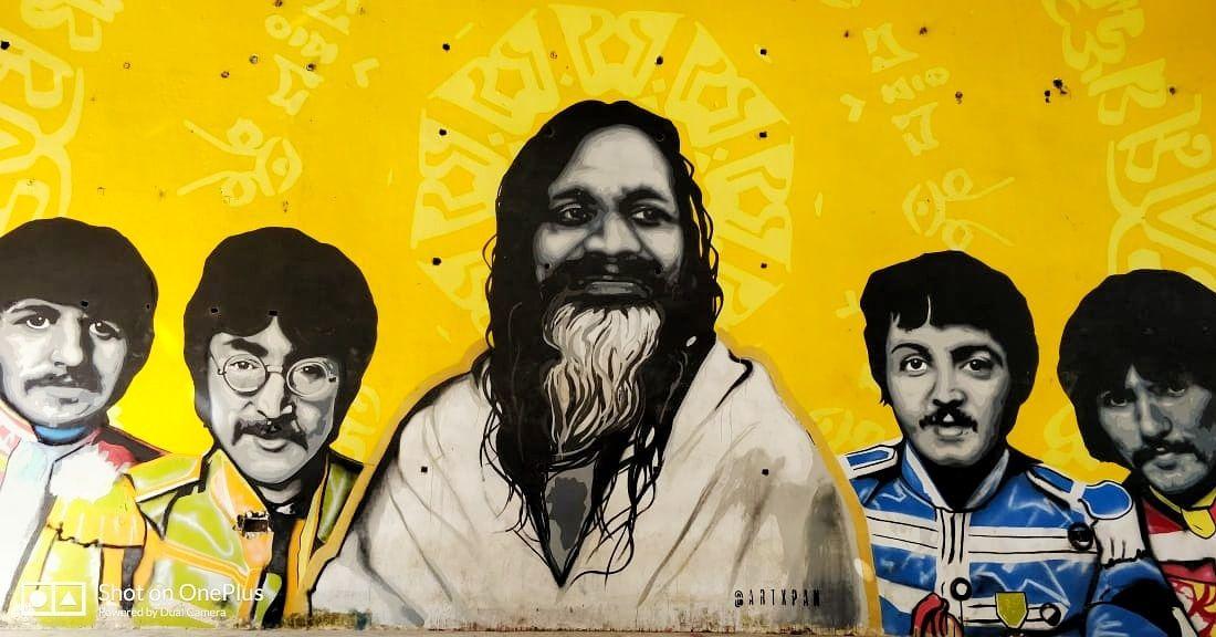 Photo of Beatles Ashram By anshika upadhyay