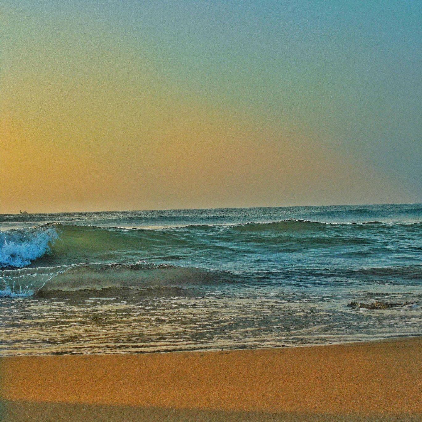 Photo of Puri sea beach By Gaurav Sahu