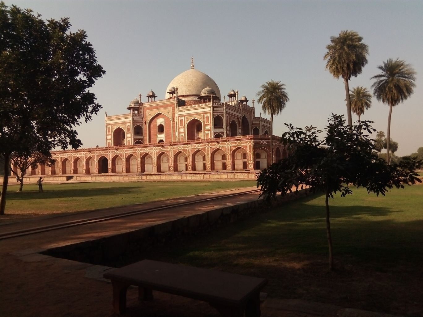 Photo of Humayun's Tomb By green and brown