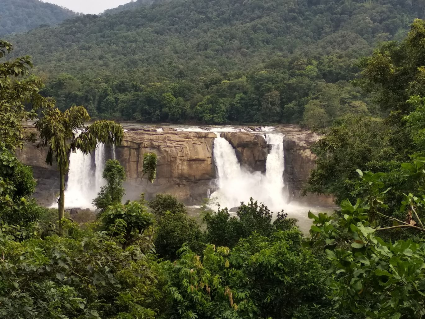 Photo of Athirappilly Water Falls By jaya kishore