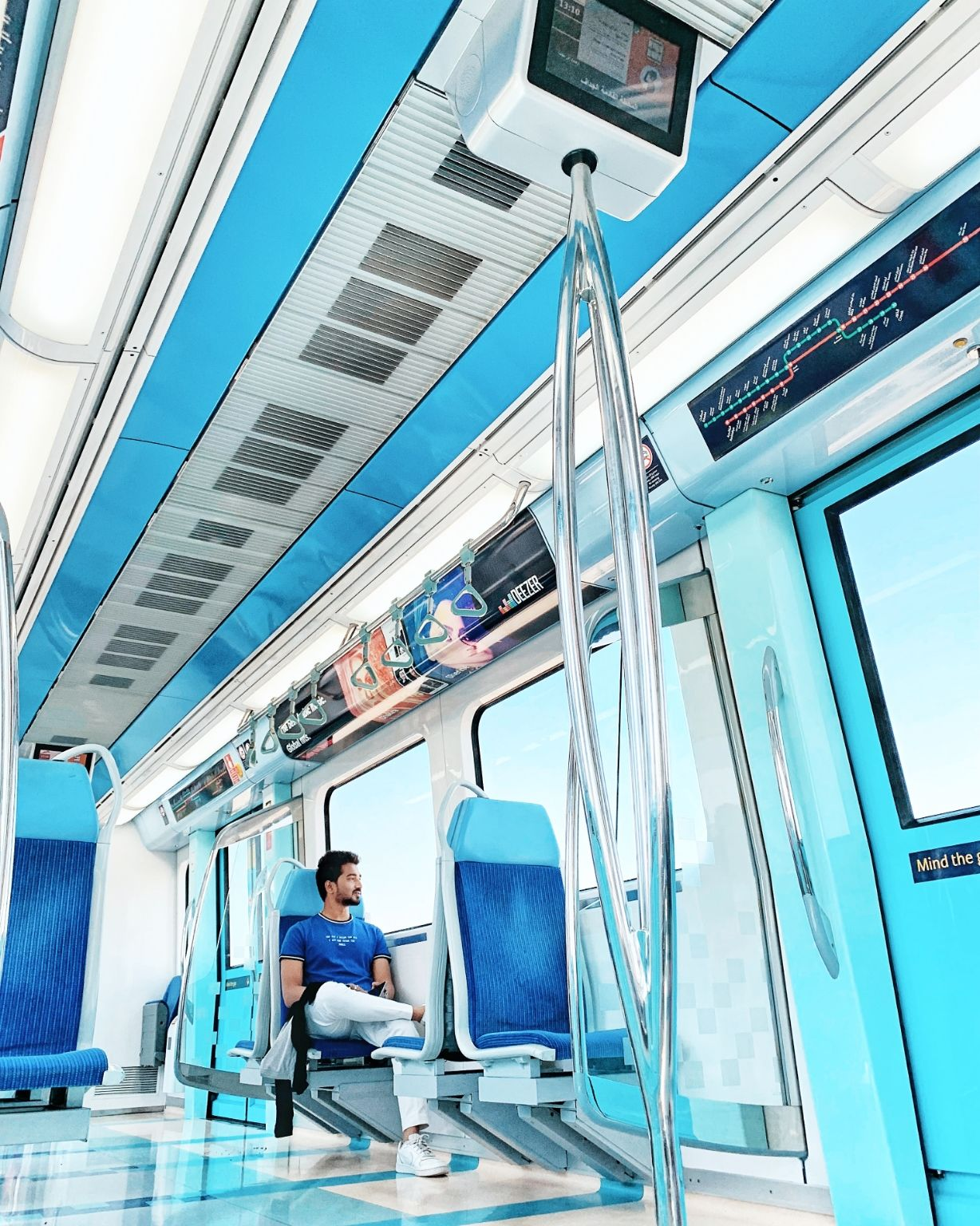 Photo of Creek Metro Station - Dubai - United Arab Emirates By Vishal Jadav