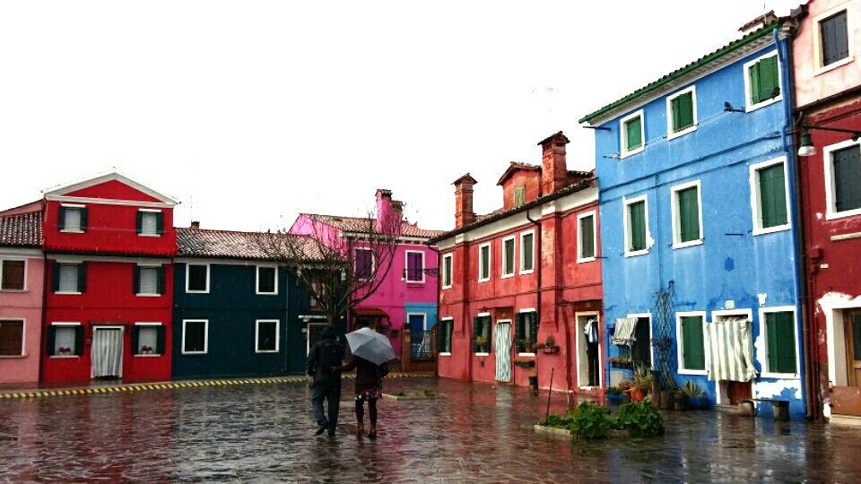 Photo of Burano: A favorite vivid color island. By Genia