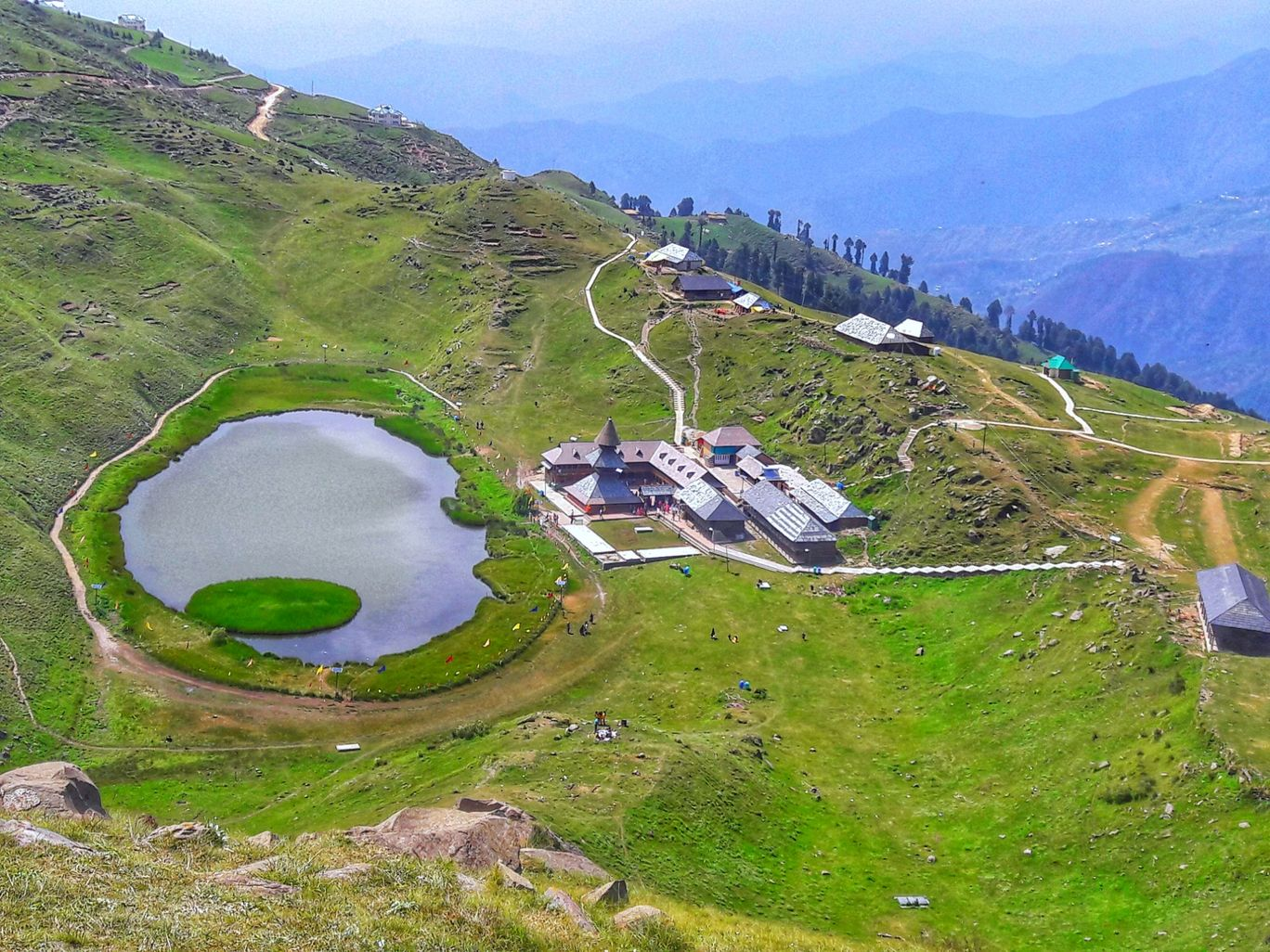 Photo of Prashar Lake - Sunshine Himalayan Camp By Rajan Sen