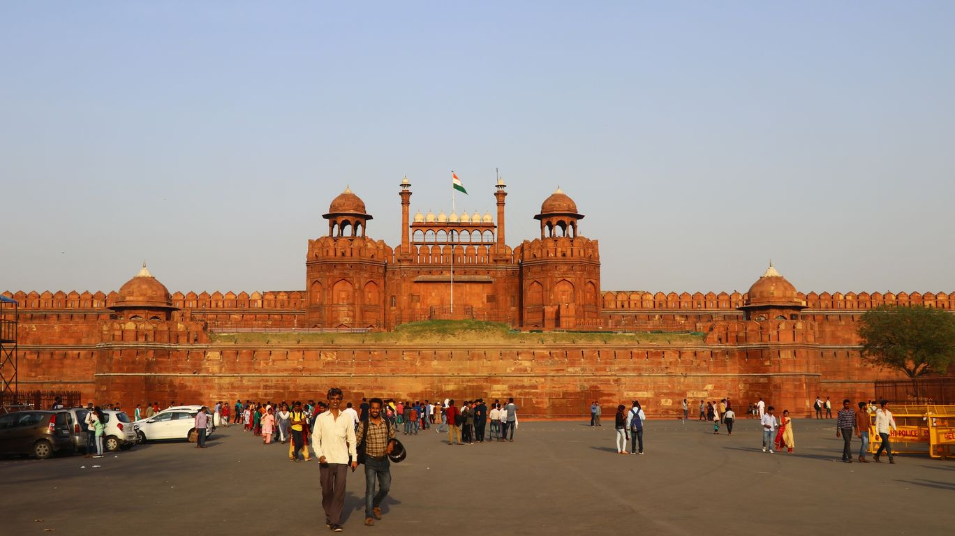 Photo of Red Fort By Manav Chugh