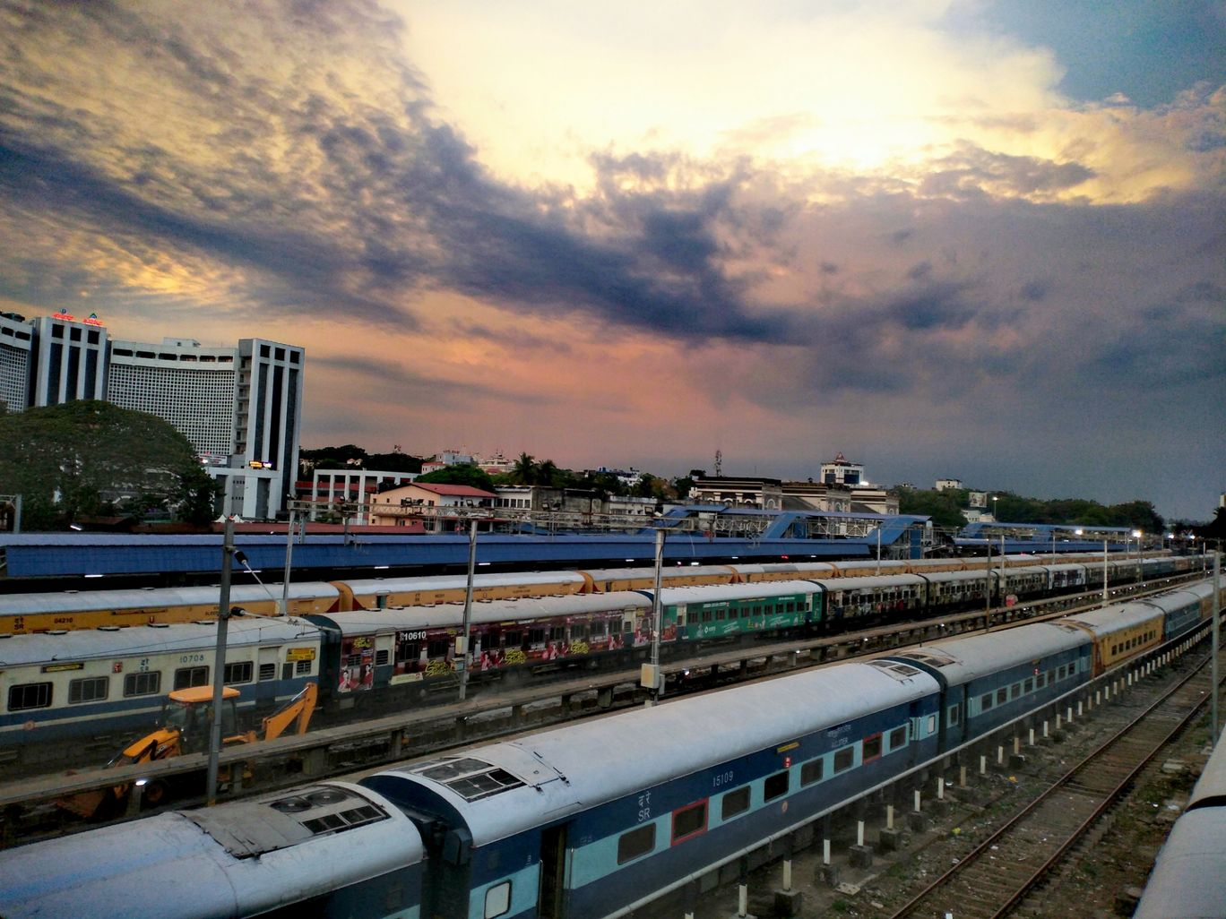 Photo of Trivandrum Central Railway Station By akhil ms