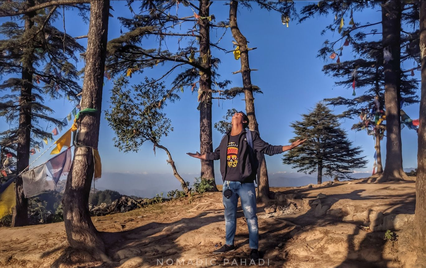 Photo of George Everest Peak By Vinod Bhandari