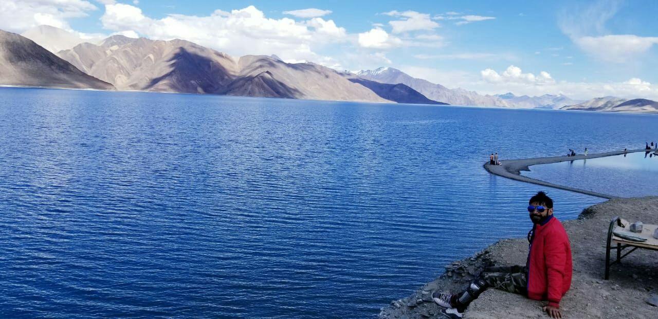 Photo of Pangong Lake By Harshal Karanpuriya