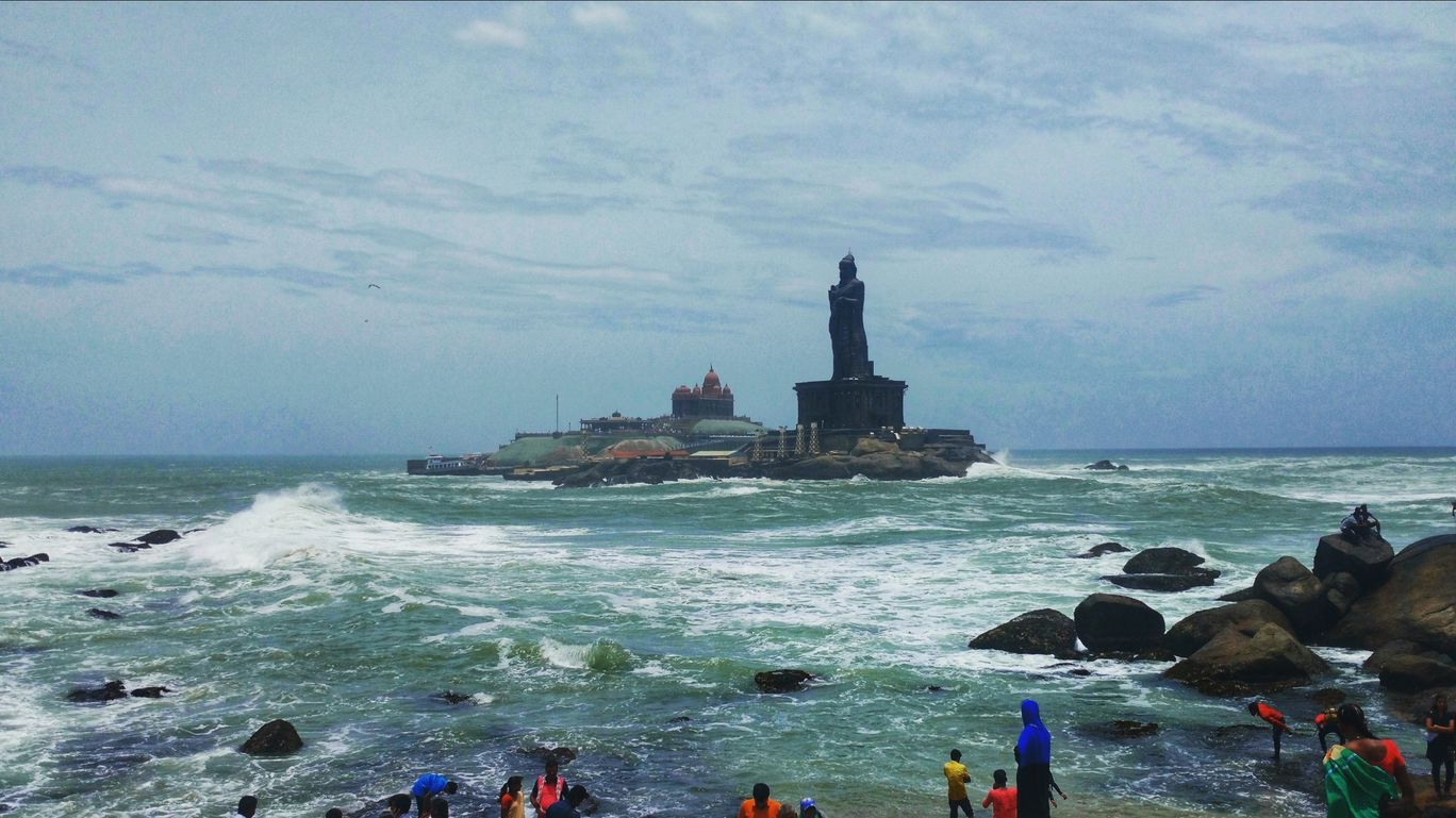 Photo of Kanyakumari Beach By Amar Mohite