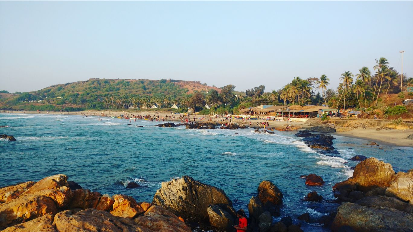 Photo of Vagator Beach By Amar Mohite
