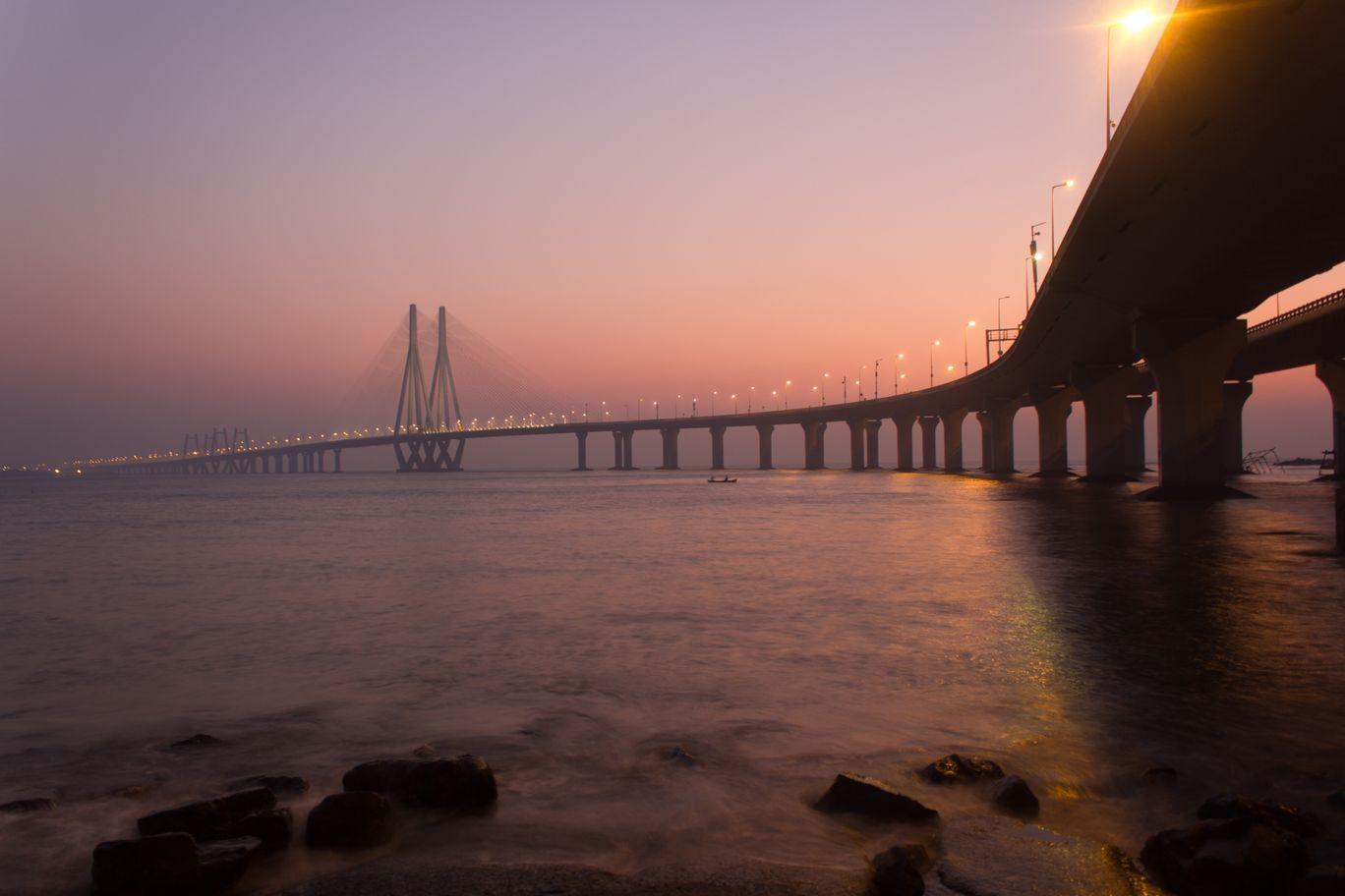 Photo of Bandra Worli Sea Link By Manish Dandekar