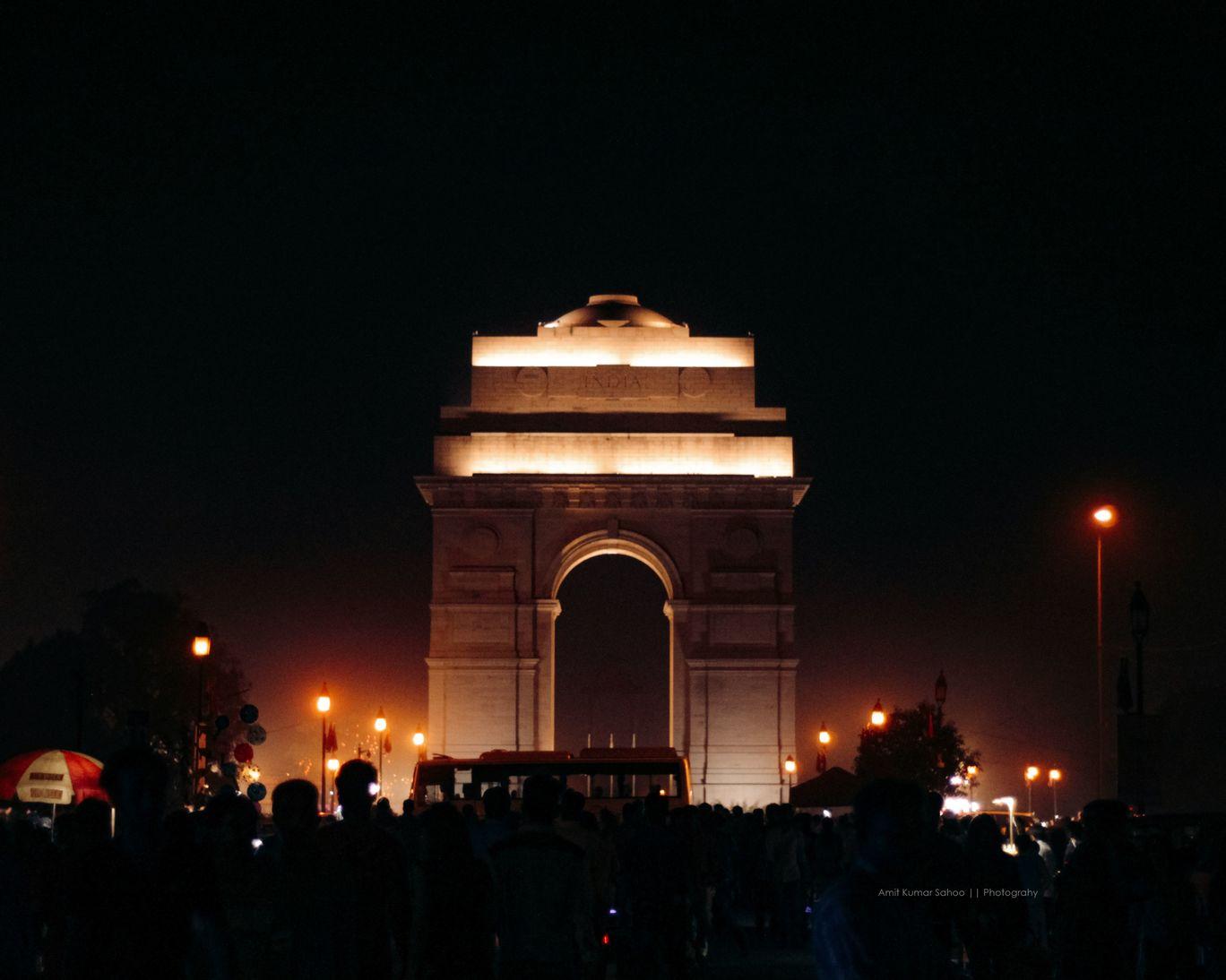Photo of India Gate By Amit Sahoo