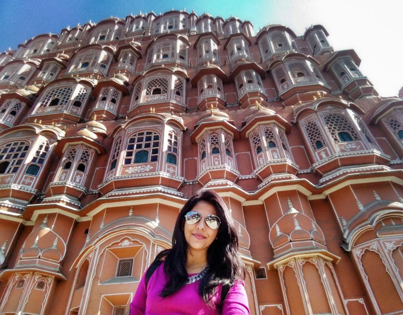 Photo of Hawa Mahal By soumya hegde