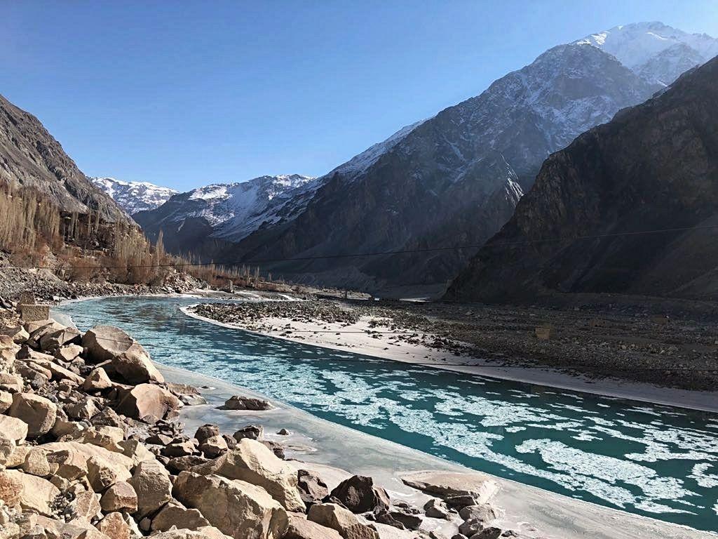 Photo of Zanskar River By sana parveen