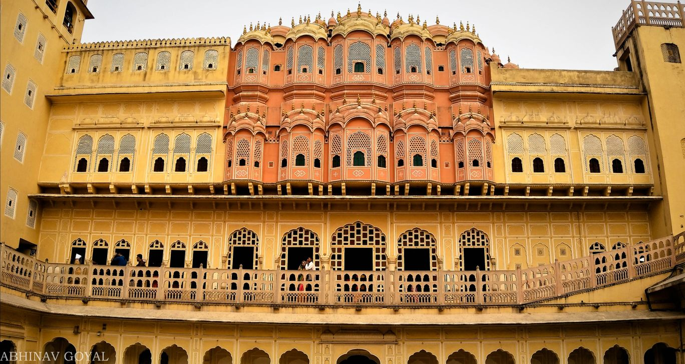 Photo of Hawa Mahal By ABHINAV GOYAL