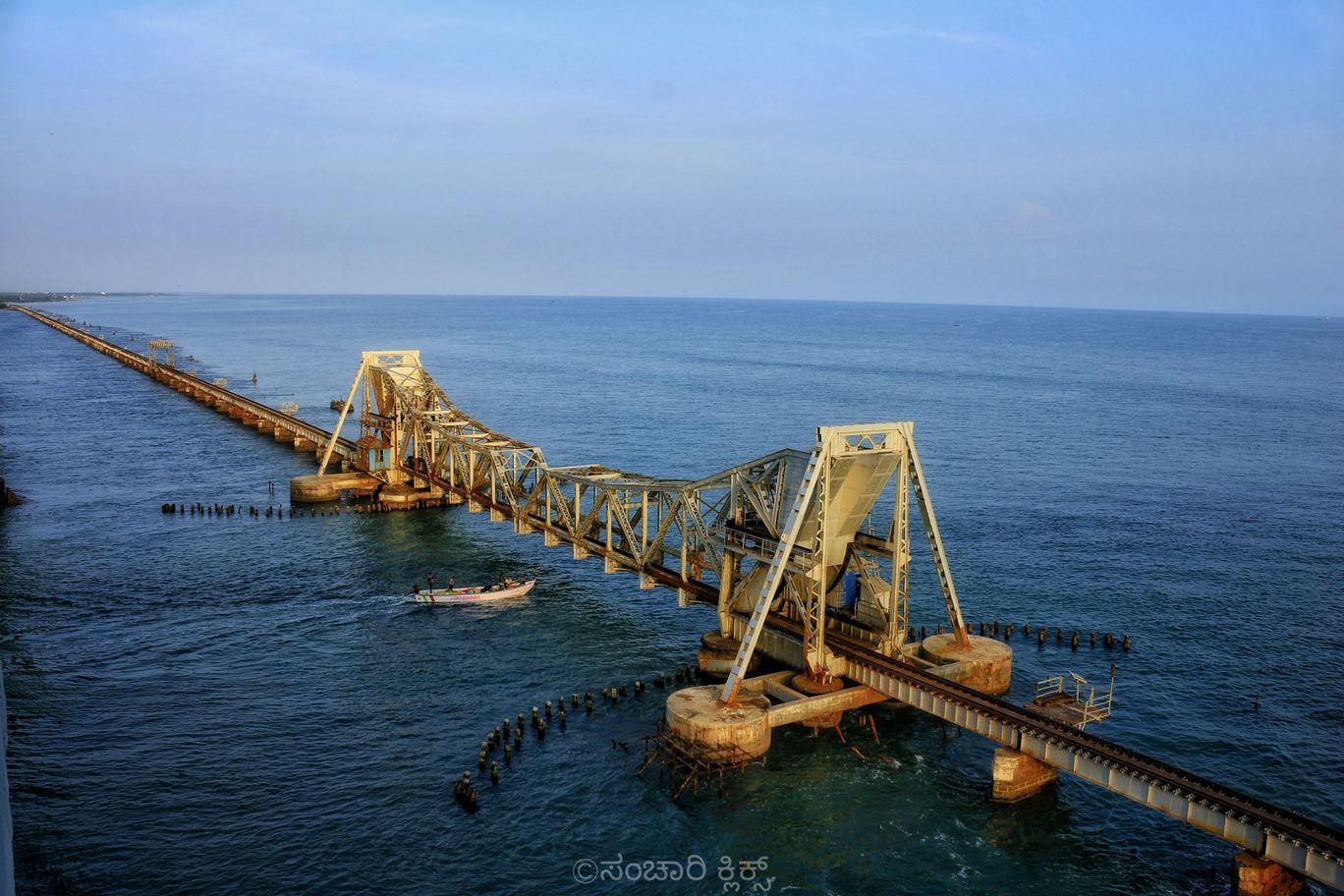 Photo of Pamban Bridge By RAKESHKUMAR PUTTAMALLAIAH