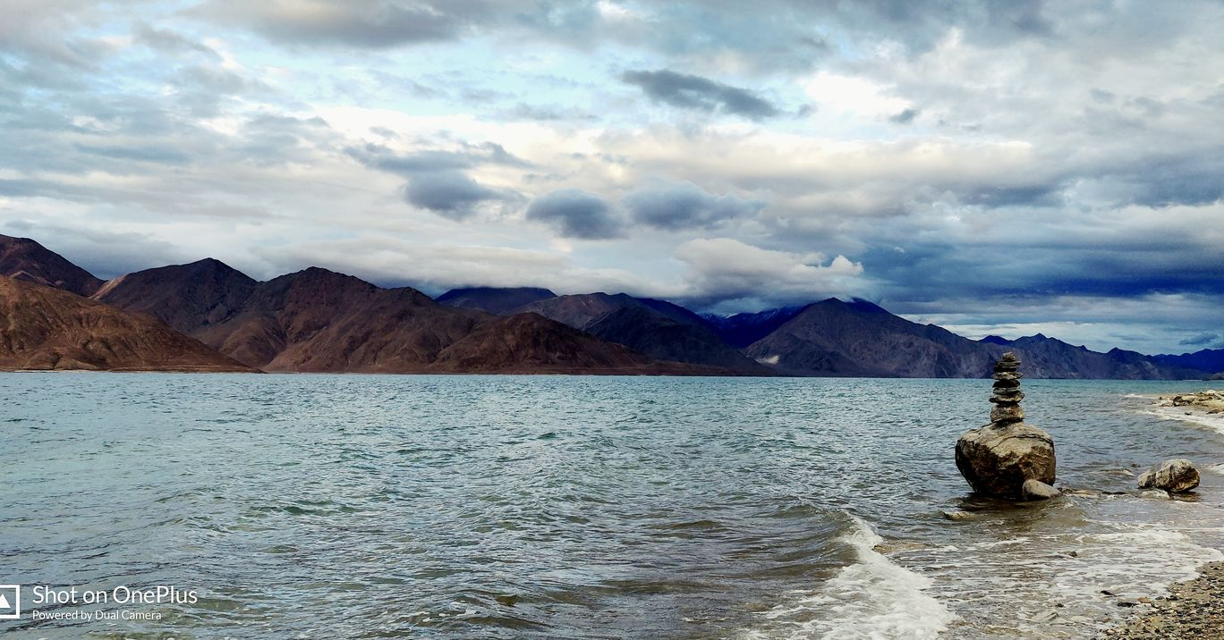 Photo of Pangong Lake By Shalom Miranda