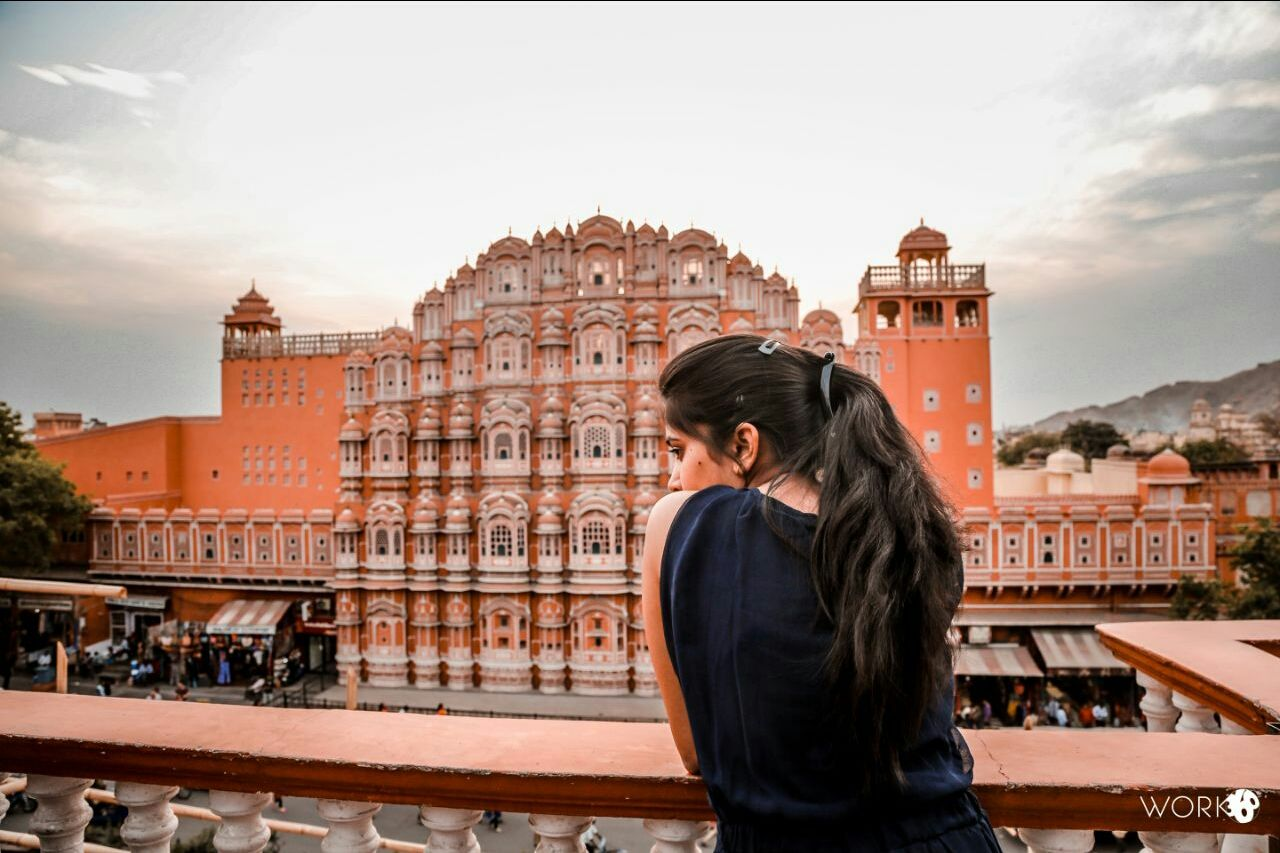 Photo of Hawa Mahal By Etee Agrawal