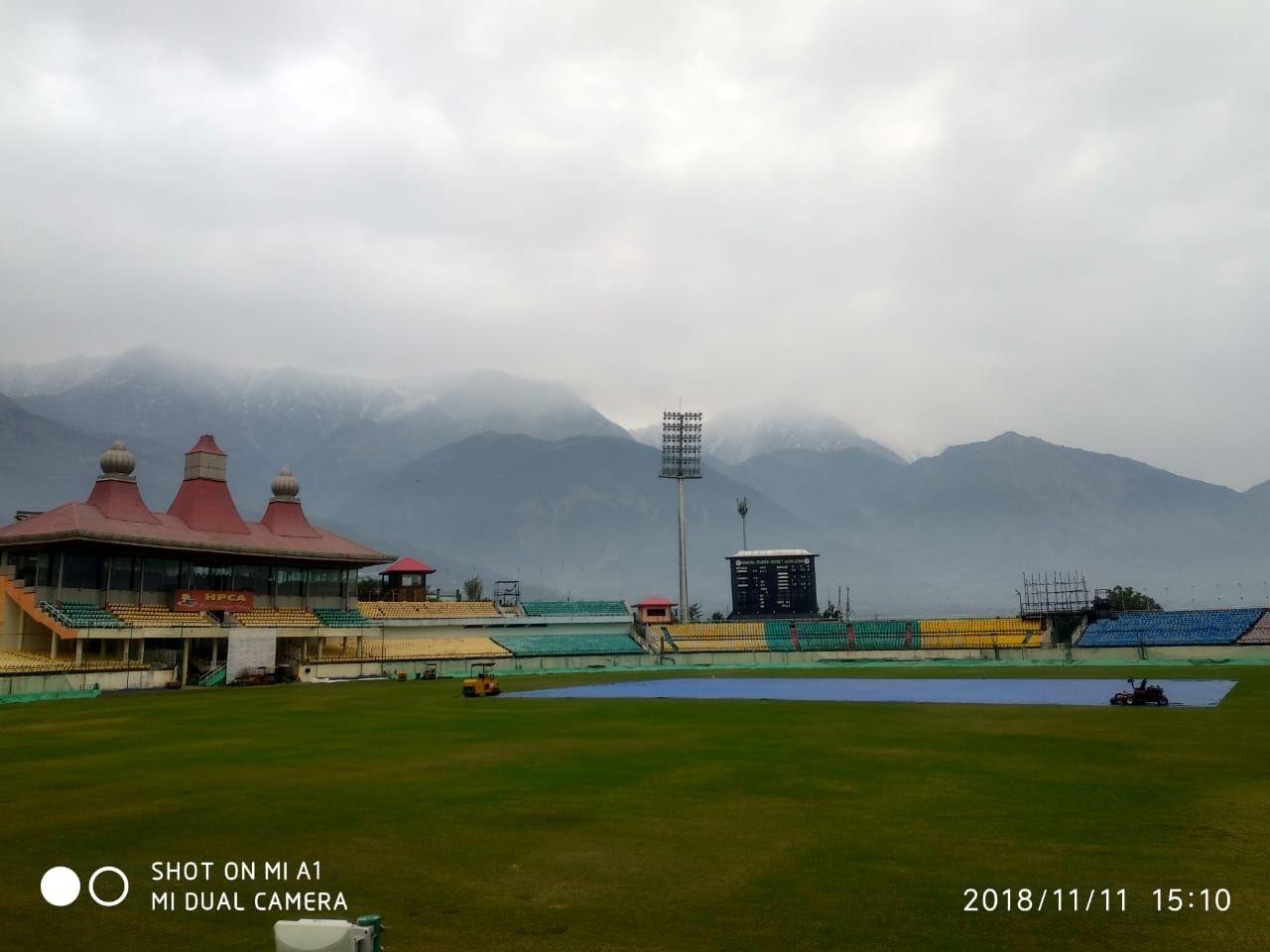 Photo of Cicket stadium Dharamshala By Rishabh Jaiswal