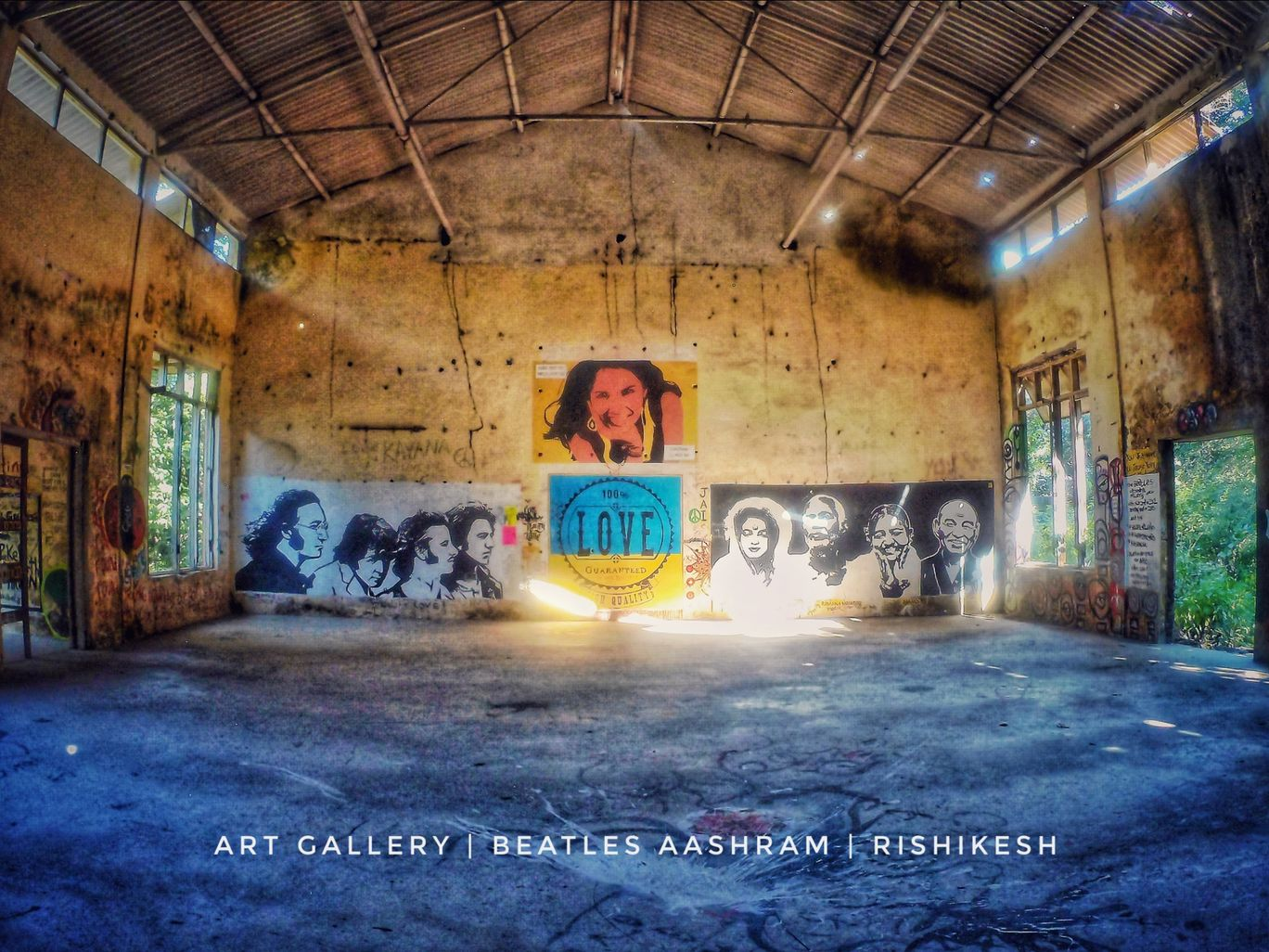 Photo of Beatles Ashram By Akarshan Sapra