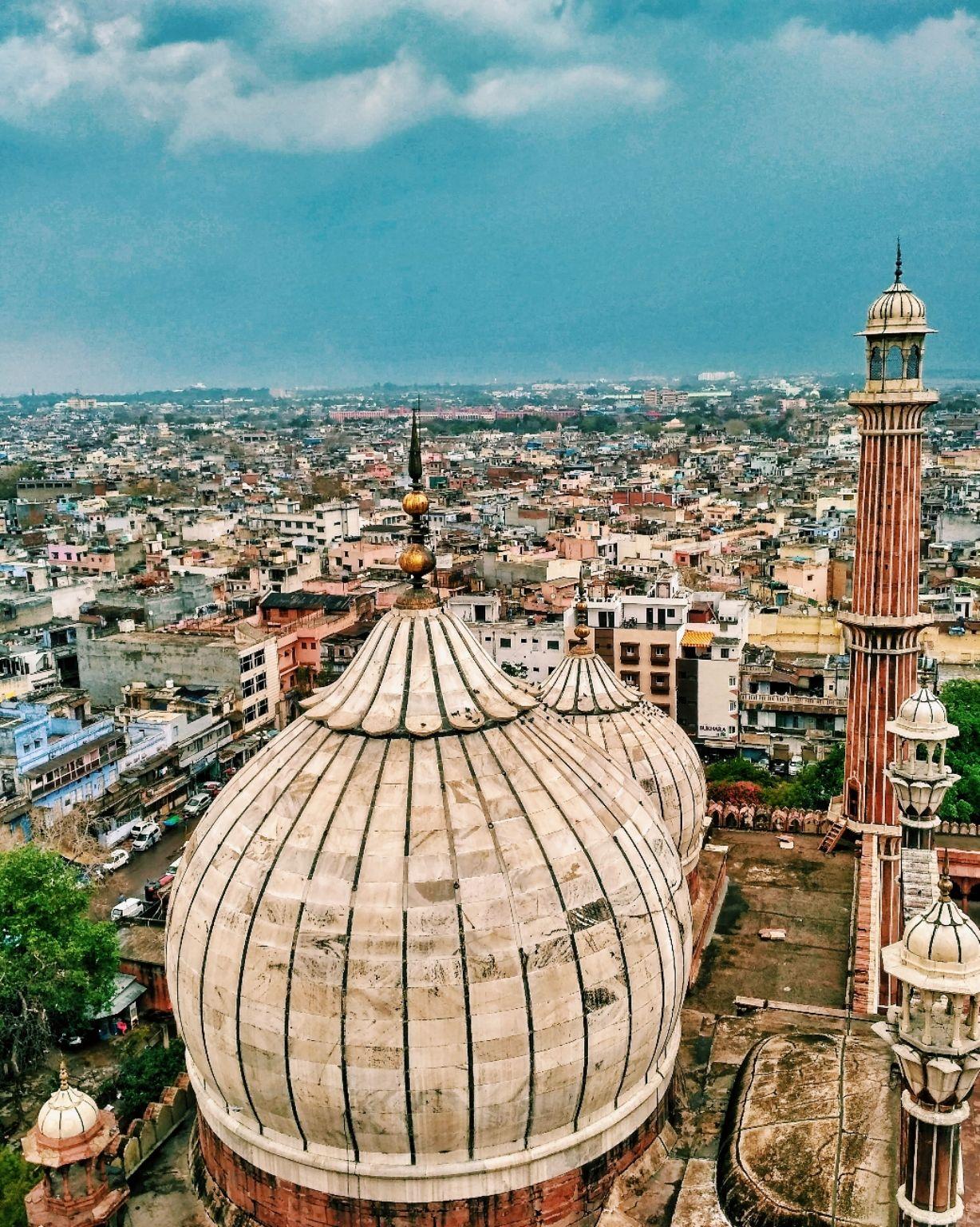 Photo of Jama Masjid By Anurag @bhokali