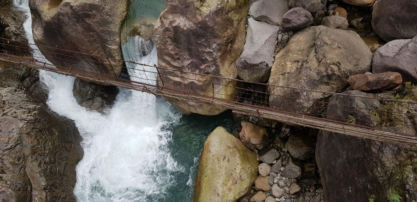 Photo of Double Decker Living Root Bridge By Sairam Ramaswamy