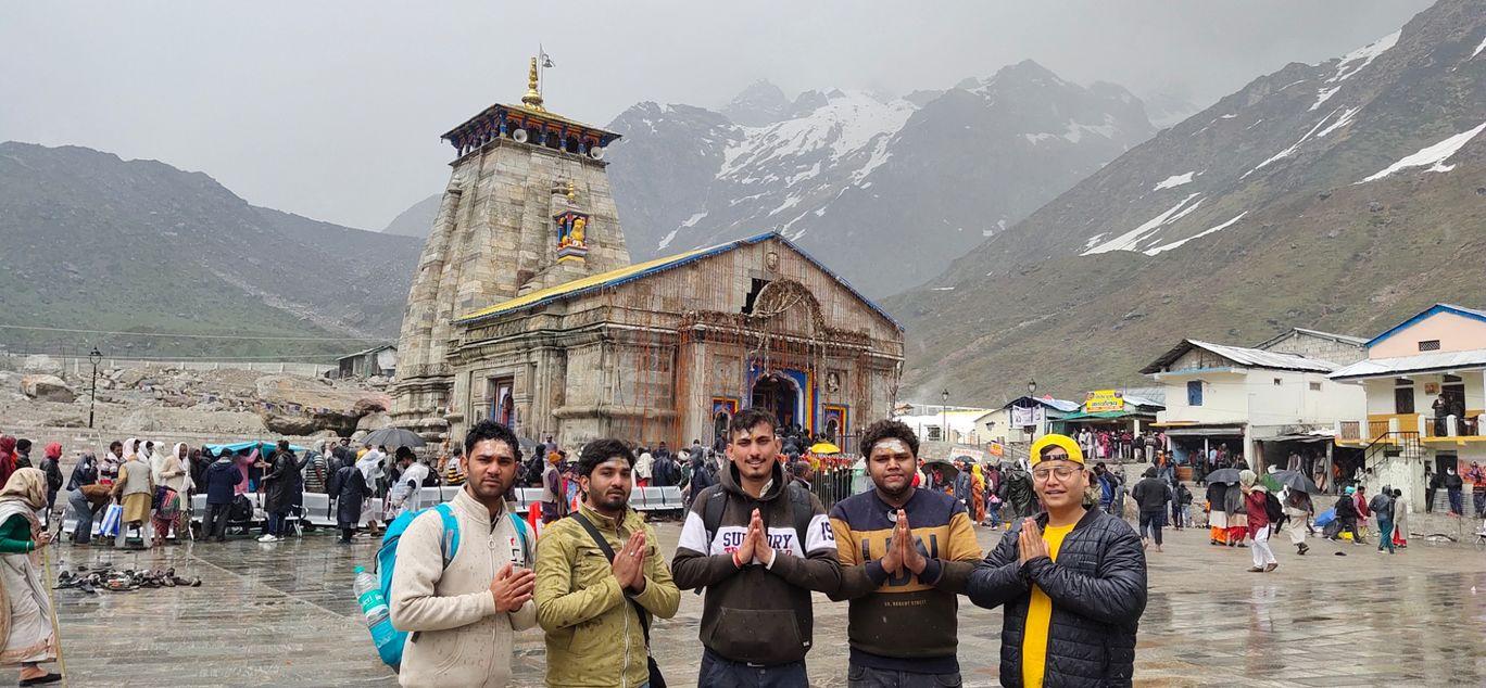 Photo of Kedarnath Temple By Abhishek aka megaabites