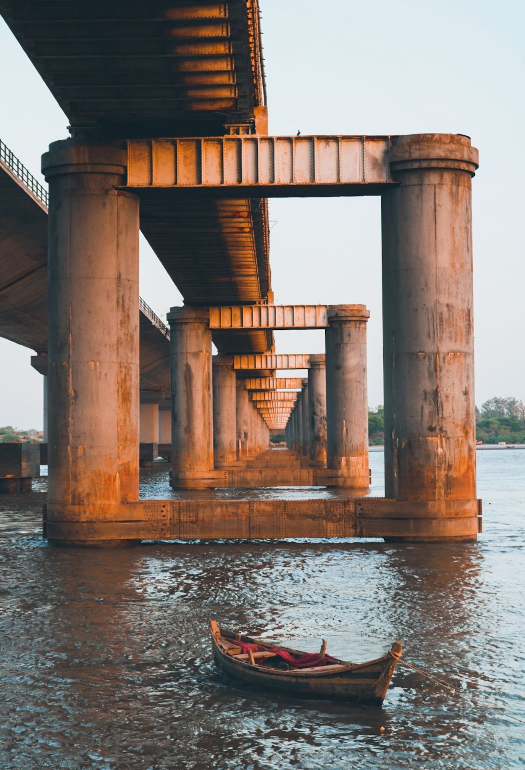 Photo of Golden Bridge By Tirthesh Parekh