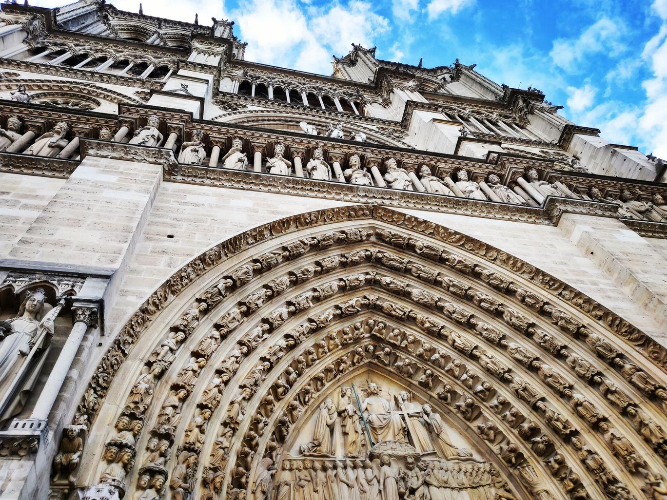 Photo of Notre Dame By Priyanka De