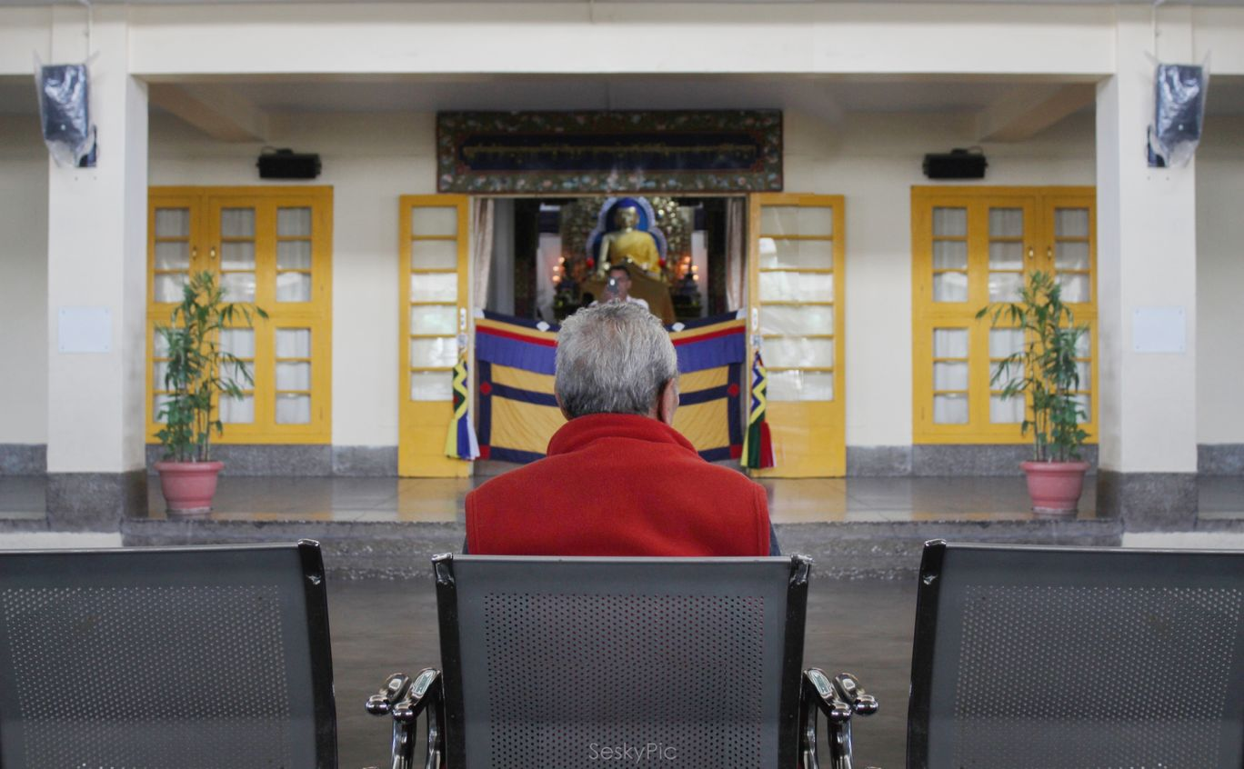 Photo of H.H. the Dalai Lama's Main Temple By Sesky Kiddo