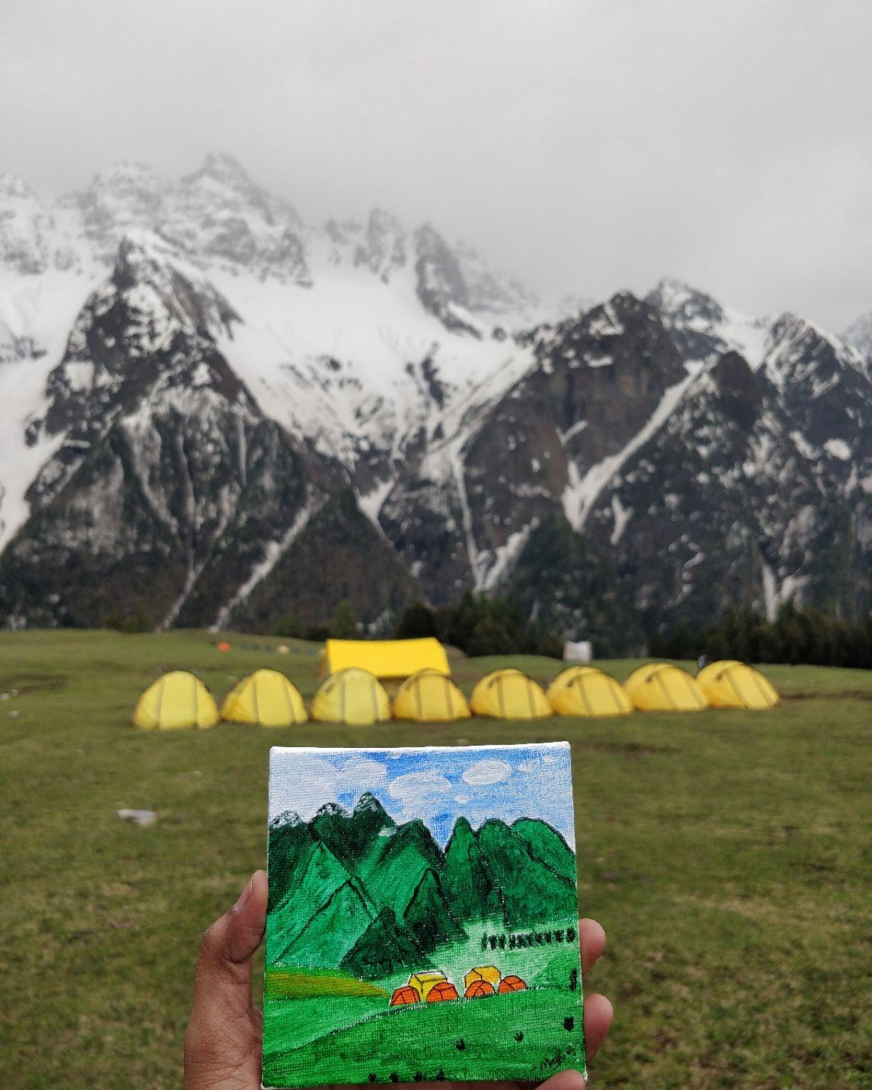 Photo of Himalayas By meghashree g