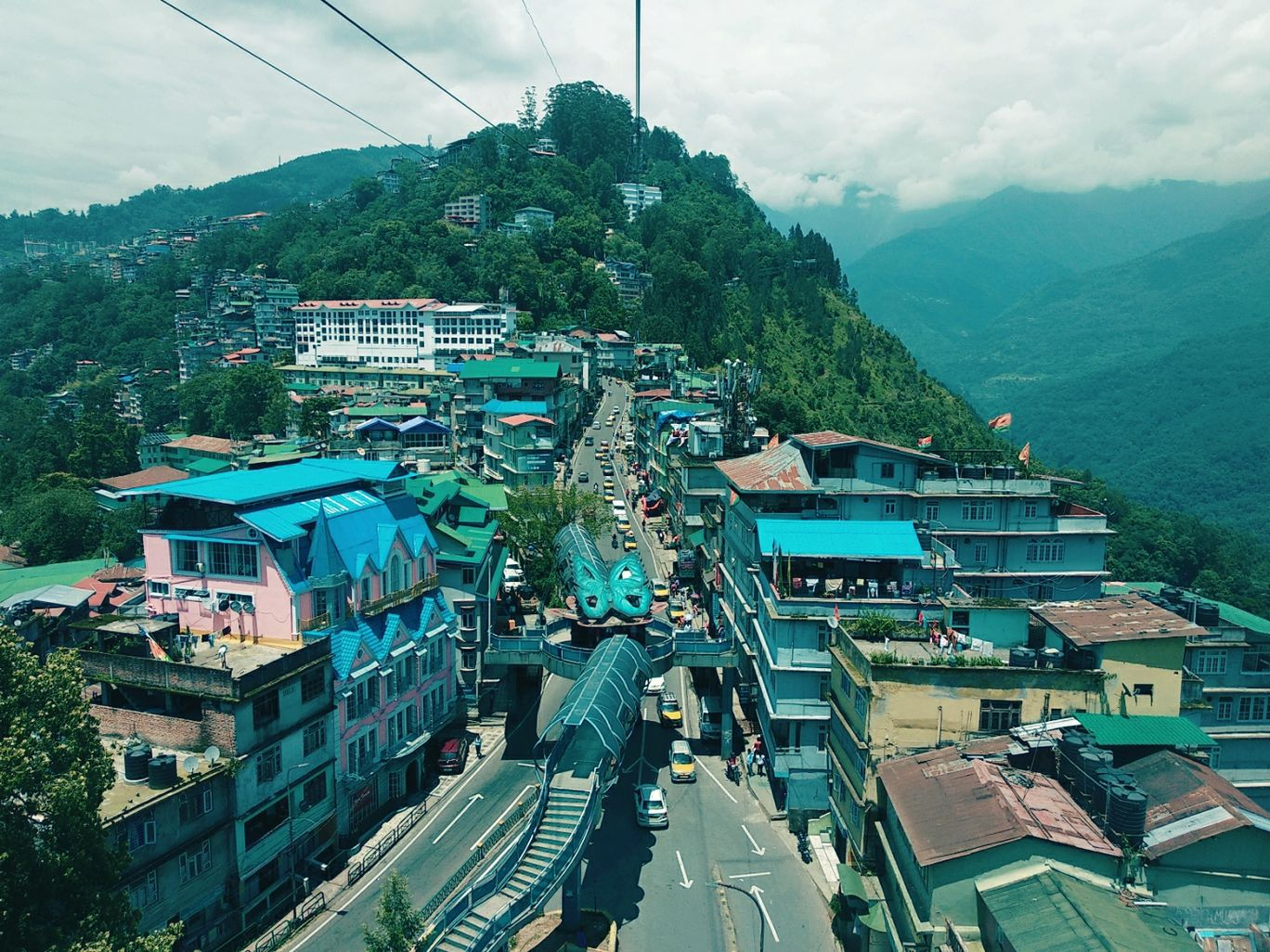 Photo of Namchi Ropeway By jyoti dwivedi