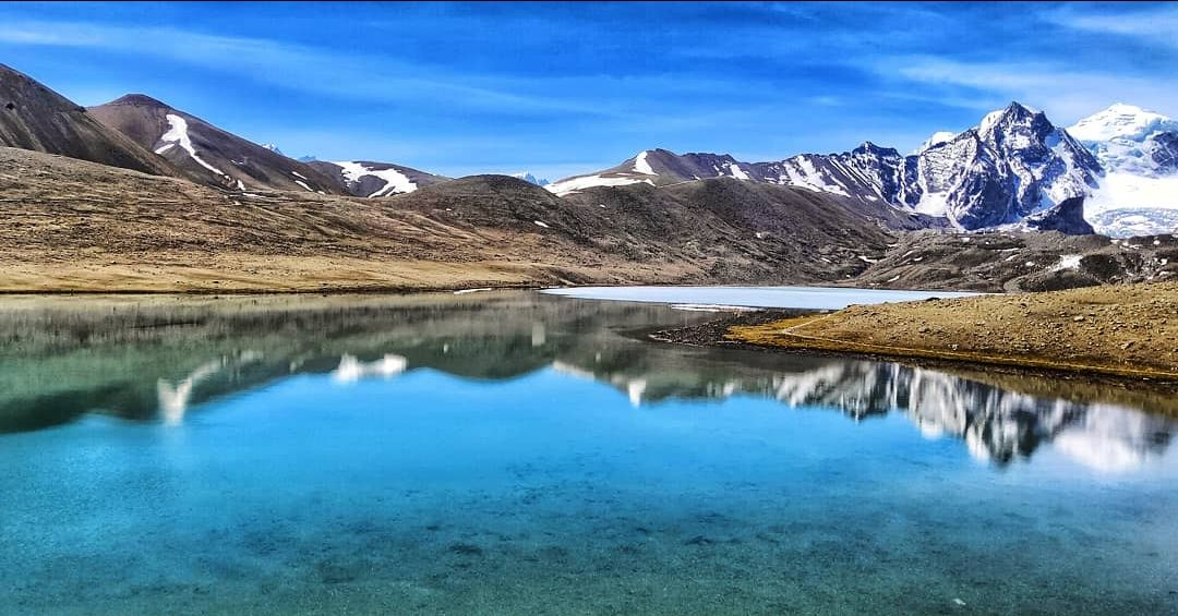 Photo of Gurudongmar Lake By Abhinandan Patra