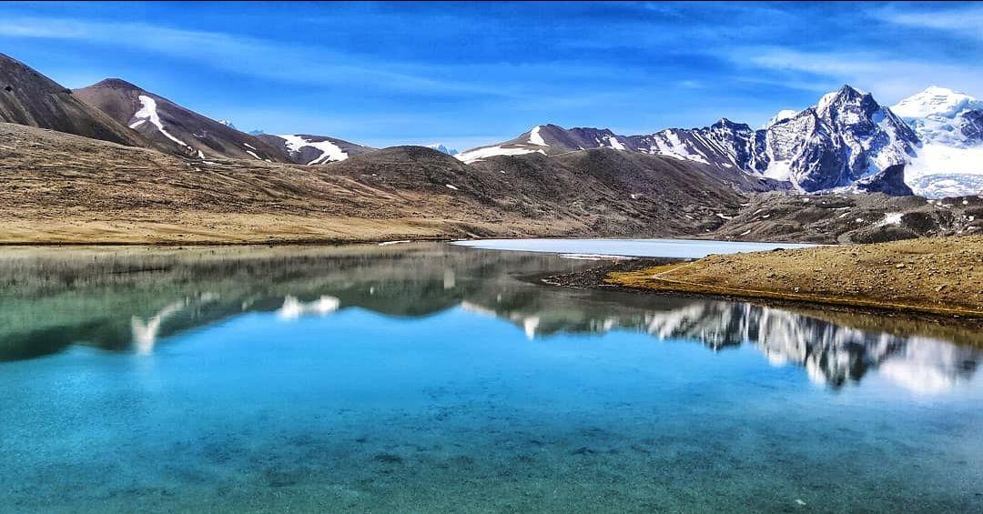 Photo of Gurudongmar Lake By Abhinandan Patra