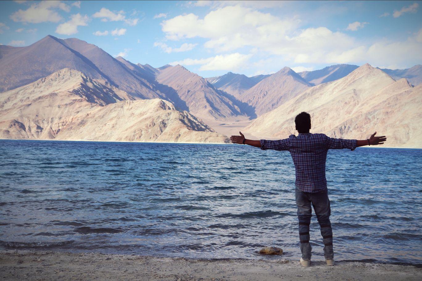 Photo of Pangong Lake By Sathish babu