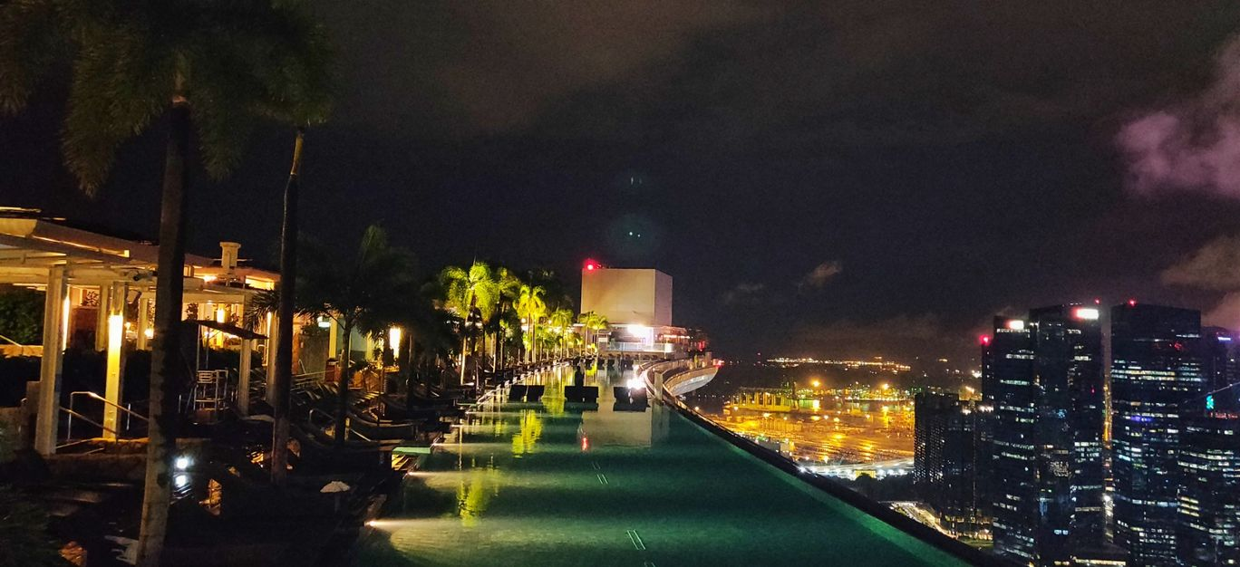 Photo of Marina Bay Sands Singapore Infinity Swimming Pool By Piyush Khatter