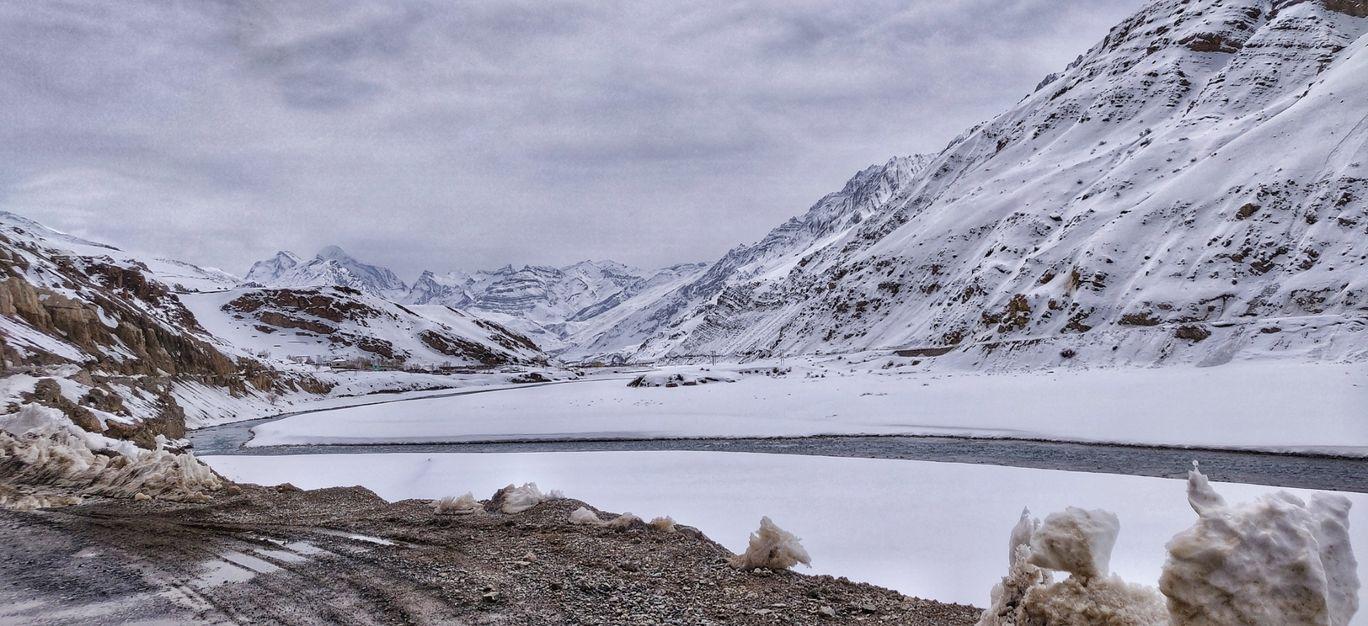 Photo of Spiti River By Piyush Khatter