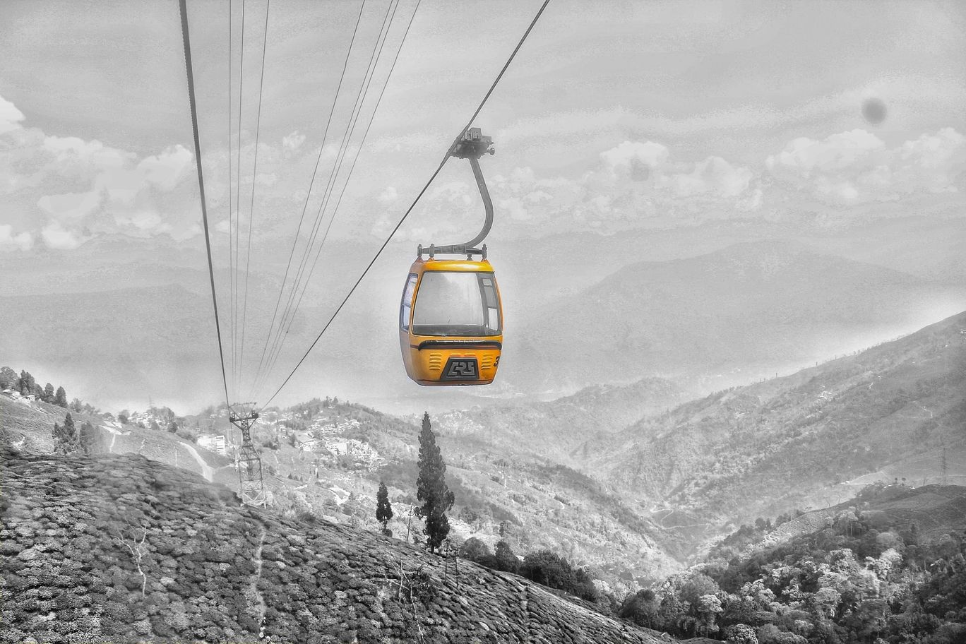 Photo of Darjeeling Ropeway Opposite St Joseph School By anas0497