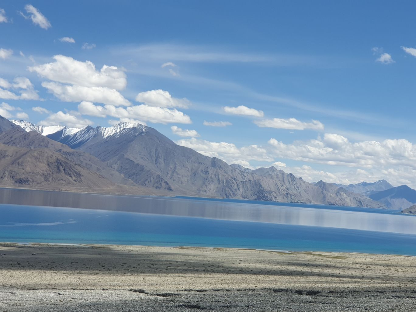 Photo of Pangong Lake By Stanzin Lhamo