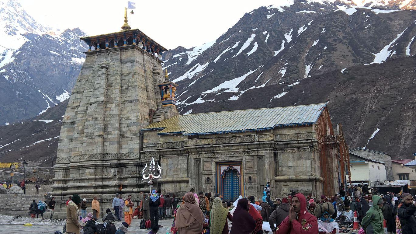Photo of Kedarnath Temple By CA Hemraj Jadhav