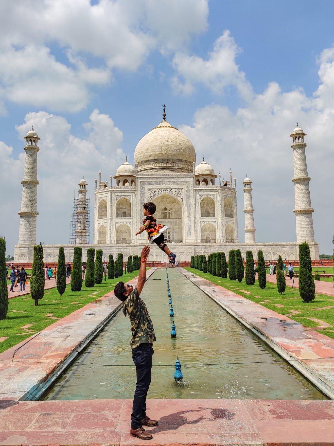 Photo of Taj Mahal By Nitish Desai