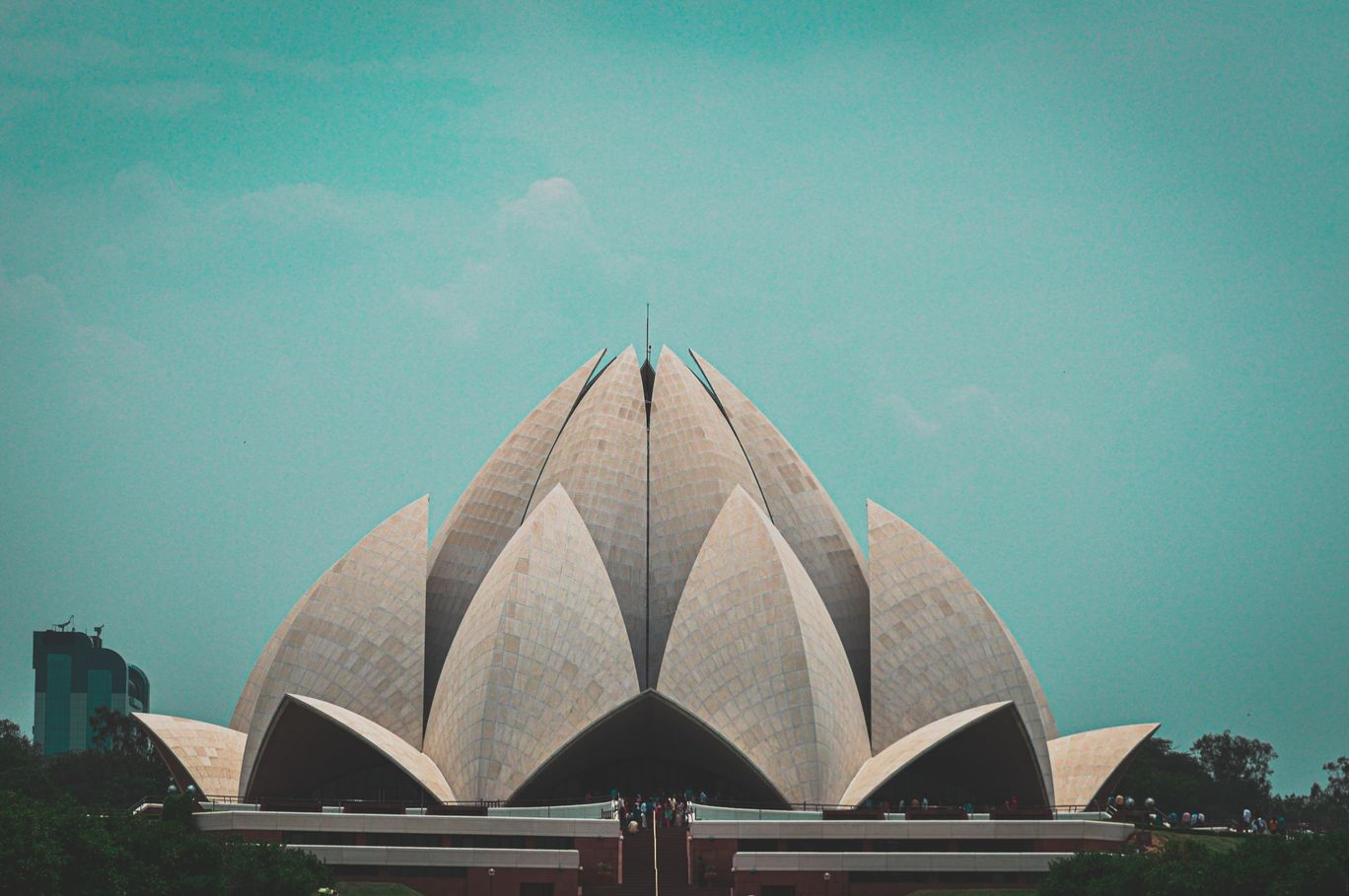 Photo of Lotus Temple By Captain Jack Sparrow