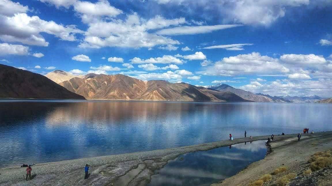 Photo of Pangong Lake By HiManshu BhaMniya