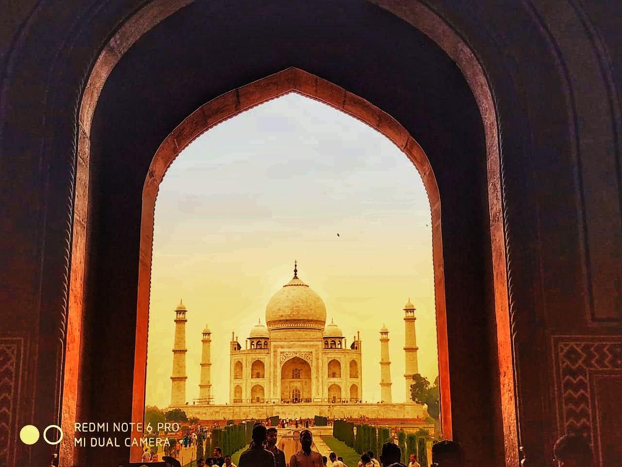 Photo of Taj Mahal By Sachin Dubey