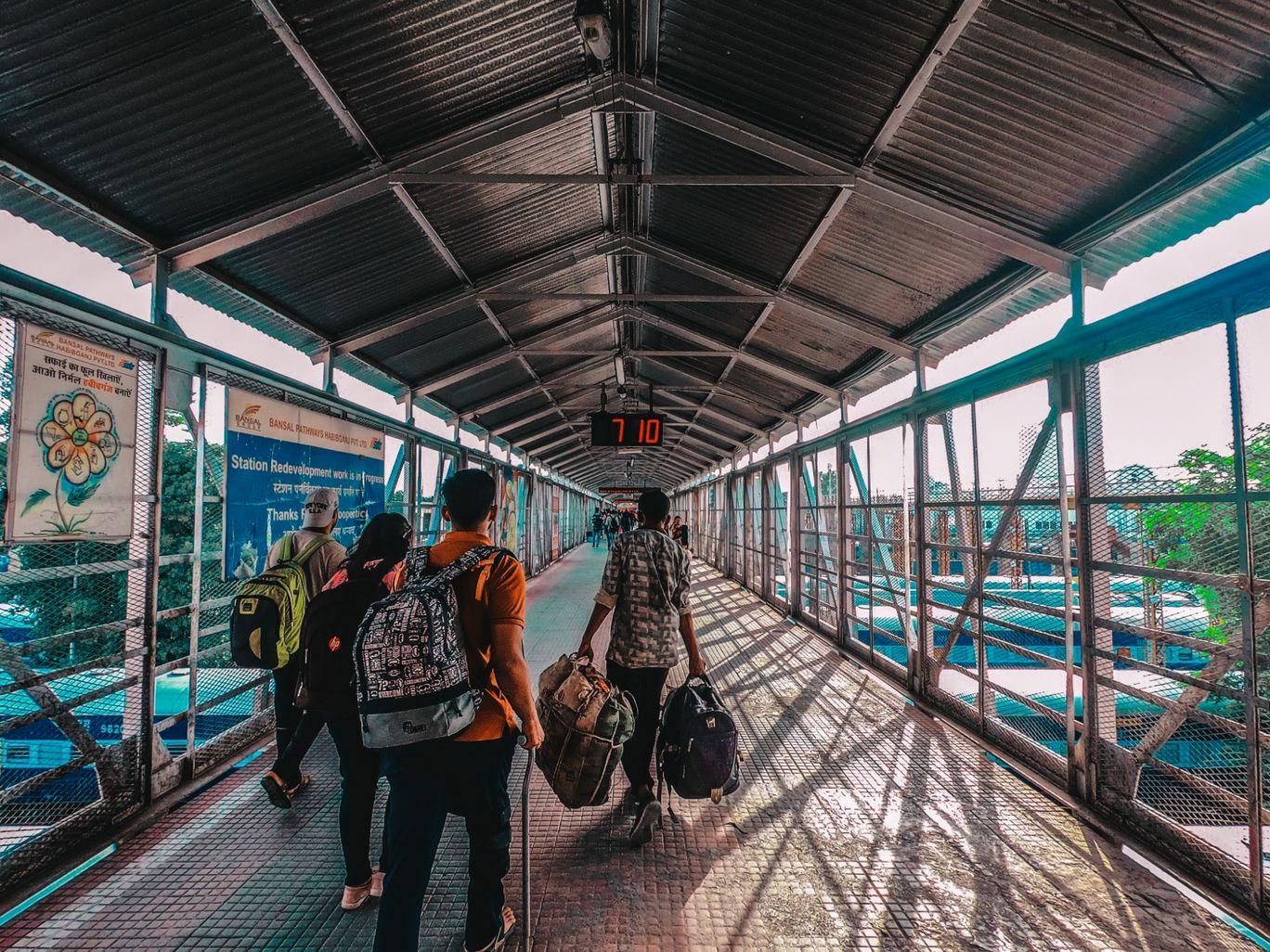 Photo of Habibganj Railway Station Platform 1 By Parmeshivam kumar