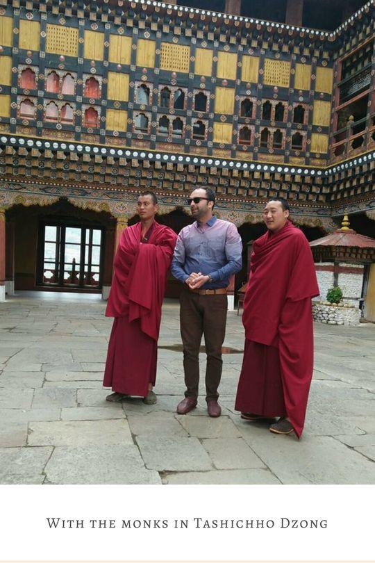 Photo of Tashichho Dzong By Anish Baheti