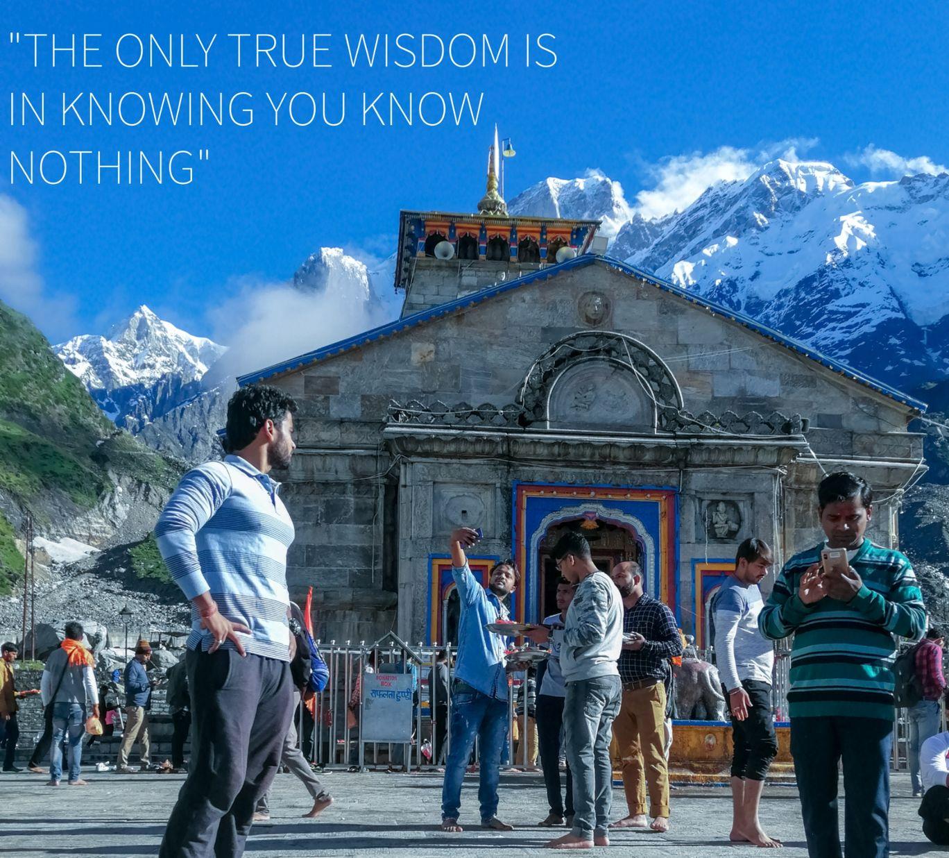Photo of Kedarnath Temple By Ashish Trivedi
