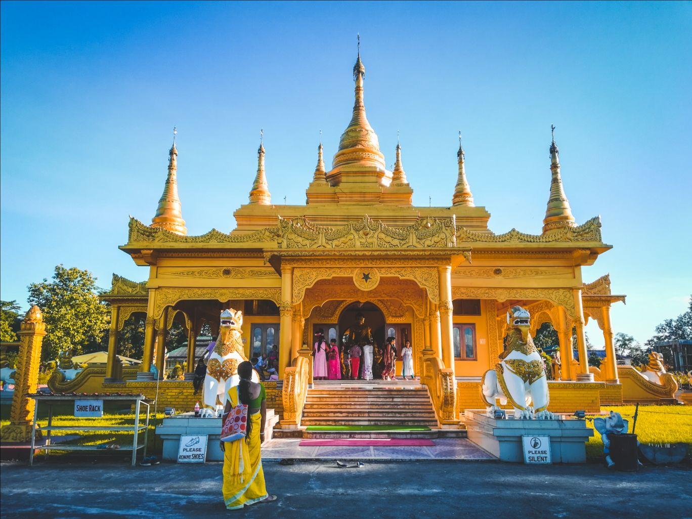 Photo of Golden Pagoda By PRASUJYA GOGOI